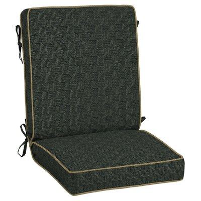 Tangier Stitch Outdoor Lounge Chair Cushion