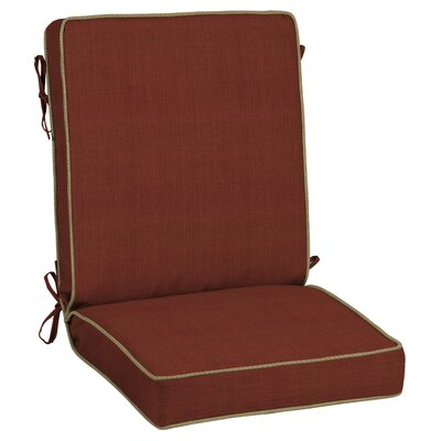 Pompas Pomegranate Outdoor Lounge Chair Cushion