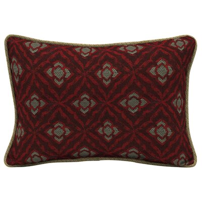 Geo Floral Outdoor Lumbar Pillow