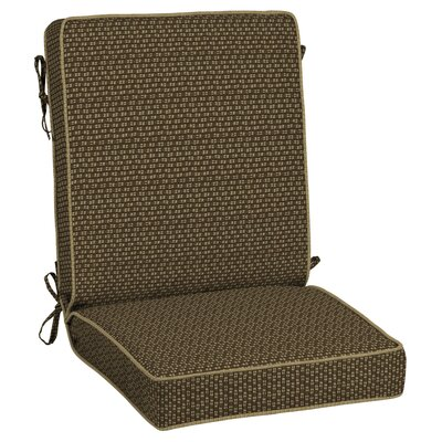 Rhodes Texture Snap Dry Outdoor Lounge Chair Cushion
