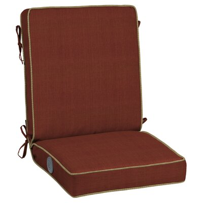Pompas Pomegranate Adjustable Comfort Outdoor Lounge Chair Cushion
