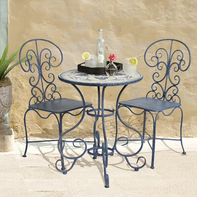 Toulouse 3 Piece Bistro Set