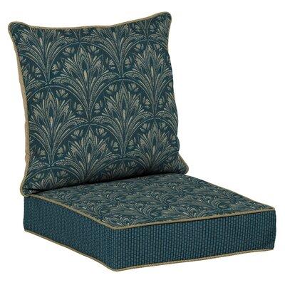 Royal Zanzibar 2 Piece Outdoor Dining Chair Cushion Set