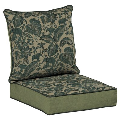 Valencia Snap Dry 4 Piece Deep Seating Group with Cushion Fabric: Casablanca Elephant