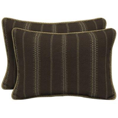 Trevor Stripe Outdoor Lumbar Pillow Size: 15 H x 22 W x 6 D
