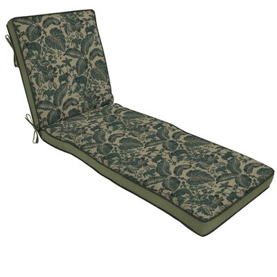 Casablanca Elephant 2 Piece Outdoor Chaise Lounge Cushion Set