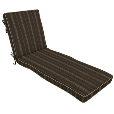 Trevor Stripe Outdoor Chaise Lounge Cushion