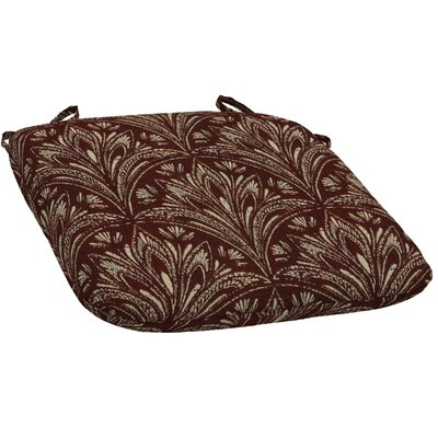 Royal Zanzibar Outdoor Dining Chair Cushion (Set of 2) Fabric: Berry