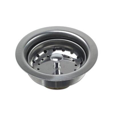 Stainless Steel Drop-In Kitchen/Bar Sink Basket Strainer