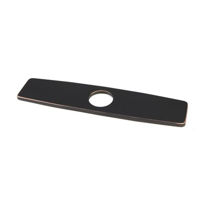 Kitchen Sink Faucet Hole Cover Deck Plate Escutcheon Finish: Oil Rubbed Bronze