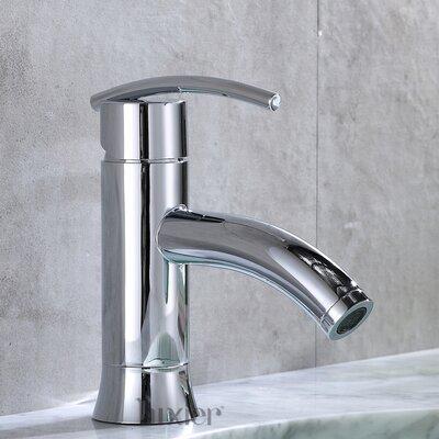 Hole Vanity Sink Lavatory Single Handle Standard Bathroom Faucet Finish: Chrome