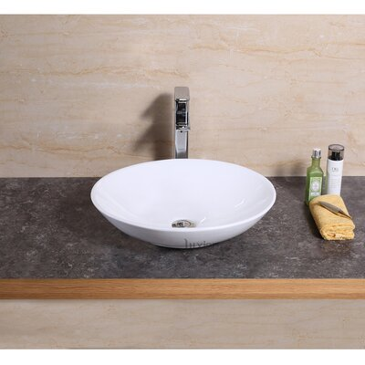 Vanity Art Basin Oval Vessel Bathroom Sink