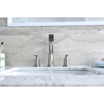 Contemporary Widespread Handle Bathroom Faucet Finish: Chrome