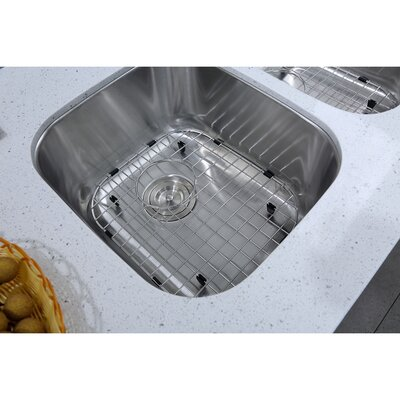 Stainless Steel 33 x 19 Double Basin Undermount Kitchen Sink with Additional Accessories