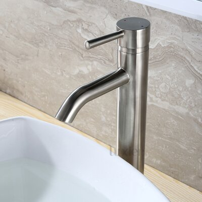 Vessel Sink Faucet Finish: Brushed Nickel