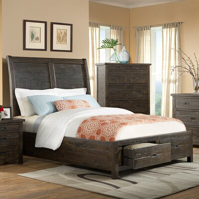Glenwood Pines Panel Bed Size: California King