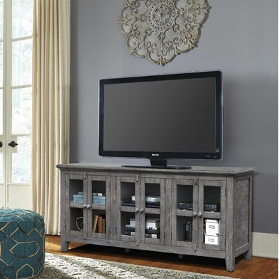 Geers Antique 70 TV Stand Color: Gray