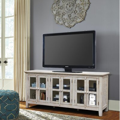 Geers Antique 70 TV Stand Color: White