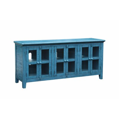 Geers Antique 70 TV Stand Color: Blue