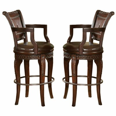 Hassler 30 Swivel Bar Stool (Set of 2)