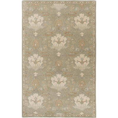 Kempinski Hand-Tufted Gray Area Rug Rug Size: Rectangle 5 x 8