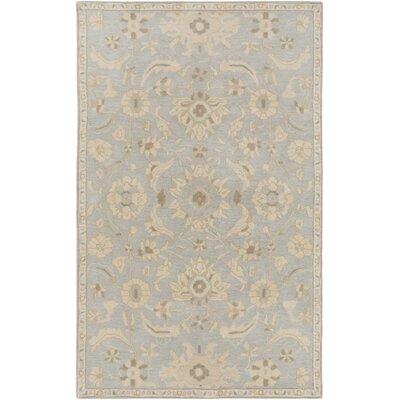 Kempinski Hand-Tufted Gray/Beige Area Rug Rug Size: 10 x 14