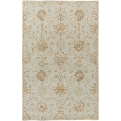 Kempinski Hand-Tufted Gray Area Rug Rug Size: Rectangle 4 x 6