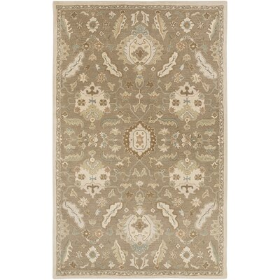 Kempinski Hand Tufted Beige Area Rug Rug Size: Rectangle 5 x 8