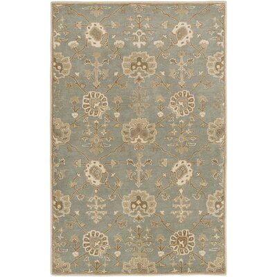 Kempinski Hand-Tufted Blue/Beige Area Rug Rug Size: Rectangle 9 x 12