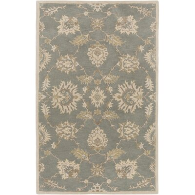 Kempinski Hand-Tufted Blue/Beige Area Rug Rug Size: Rectangle 5 x 8