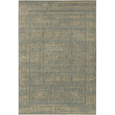 Ventanas Charcoal/Beige Area Rug Rug Size: Rectangle 27 x 47