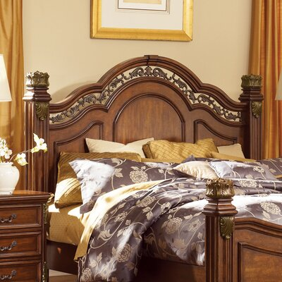 Cavas Panel Headboard Size: King, Color: Cognac