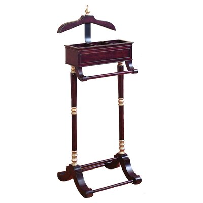 Bowman Wood and Metal Valet Stand