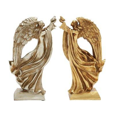 Christmas Angel Figurine Set