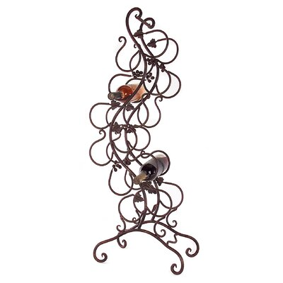 Redmont 8 Bottle Floor Wine Rack