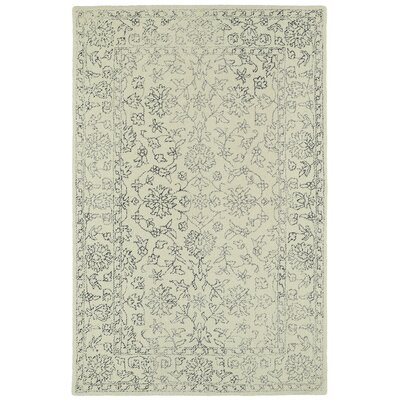 Eugene Hand-Tufted Beige Area Rug Rug Size: Rectangle 2 x 3
