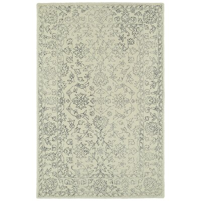 Eugene Hand-Tufted Beige Area Rug Rug Size: Rectangle 5 x 9