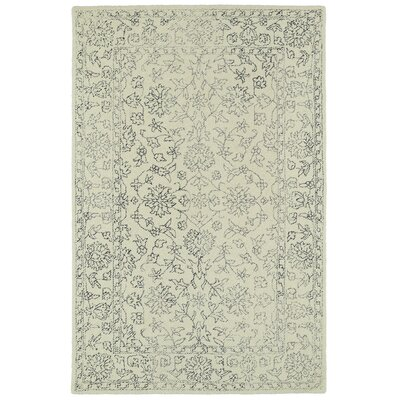 Eugene Hand-Tufted Beige Area Rug Rug Size: Rectangle 8 x 10