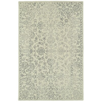 Eugene Hand-Tufted Beige Area Rug Rug Size: Rectangle 9 x 12