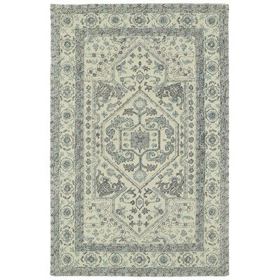 Eugene Hand-Tufted Gray Area Rug Rug Size: Rectangle 2 x 3
