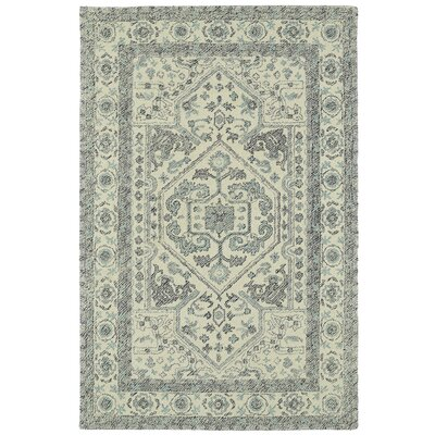 Eugene Hand-Tufted Gray Area Rug Rug Size: Rectangle 8 x 10