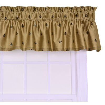 Chateau 50 Curtain Valance Color: Gold