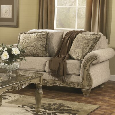Pirton Standard Loveseat Upholstery: Beige