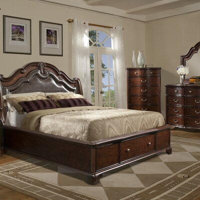 Salses Platform Customizable Bedroom Set