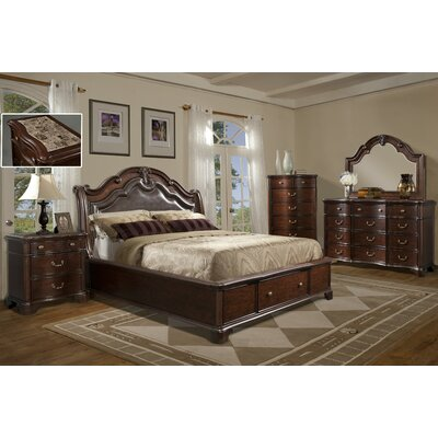 Salses Platform Customizable Bedroom Set