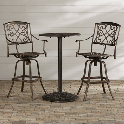 Wynn 3 Piece Bar Table Set