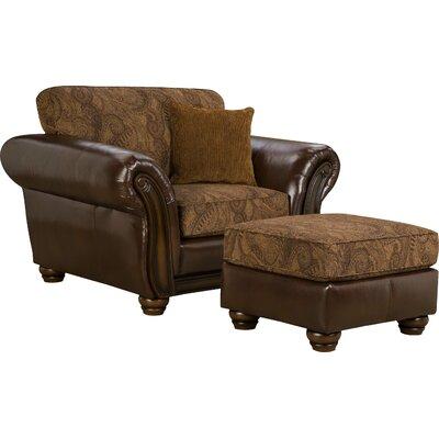 Simmons Upholstery Aske Ottoman