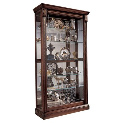 Dunstaffnage Curio Cabinet Finish: Medallion Cherry