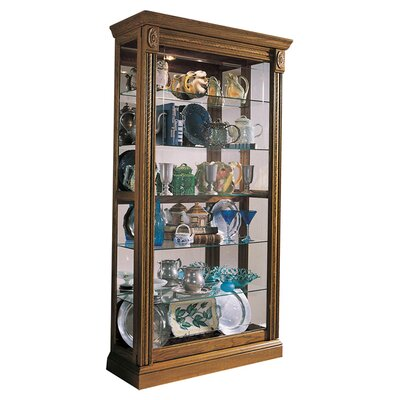 Dunstaffnage Curio Cabinet Finish: Estate Oak