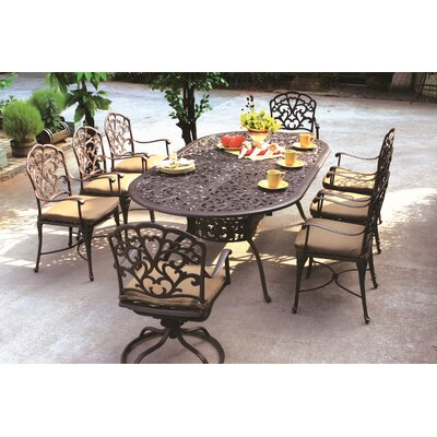 Fairmont Dining Table Table Size: 96 L x 48 W